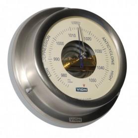 Vion Barometer Mat RVS Creme - 129 mm