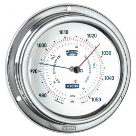 Vion Barometer Mat RVS - 129 mm