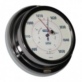 Vion Barometer Titanium Gekleurd - 129 mm