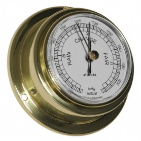 Altitude Barometer Engels Messing - 95 mm