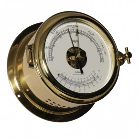 Schatz 1881 Fyrkat 140 Barometer Thermometer Messing