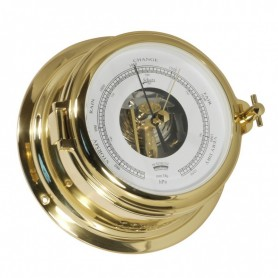 Schatz 1881 Midi 155 Barometer Open Wijzerplaat Messing