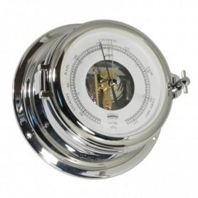 Schatz 1881 Midi 155 Barometer Open Wijzerplaat Verchroomd Messing