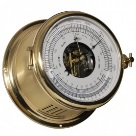 Schatz 1881 Royal 180 Barometer / Thermometer Messing