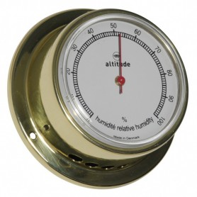 Altitude Hygrometer Messing - 71 mm