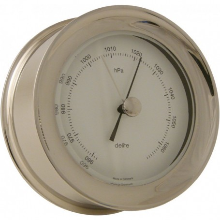 Delite Zealand Barometer Glanzend RVS - 110 mm