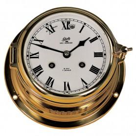 Schatz 1881 Midi 155 Mechanische Klok Glazen Slaand Romeins Messing - Schatz 1881 - Mechanische Klokken - 450 CM