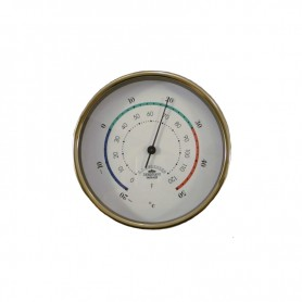 E.S. Sørensen Mini Thermometer Messing - 90 mm