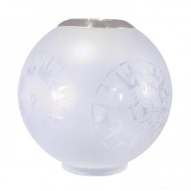 E.S. Sørensen Globe Lampenglas Top Ring Kompasmotief