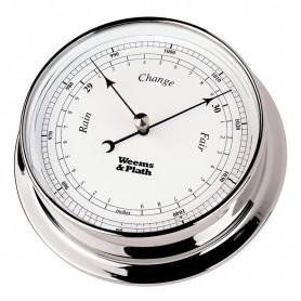 Weems En Plath Endurance I 125 Barometer Verchroomd Messing - 152 mm