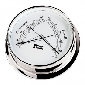 Weems & Plath Endurance I 125 Comfortmeter Verchroomd Messing - 152 mm