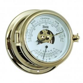 Weems & Plath Baron thermometer ineen afmeting 152mm doorsnee.