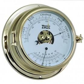 Weems En Plath Endurance II 135 Barometer Thermometer Messing - 178 mm