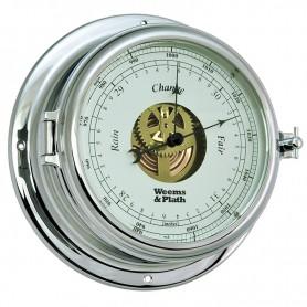 Weems En Plath Endurance II 135 Barometer Verchroomd Messing - 178 mm