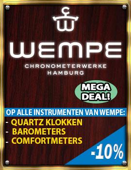 Wempe - Alle Instrumenten MEGA DEAL - 40 Procent Korting!